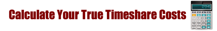 Calculate Timeshare Costs