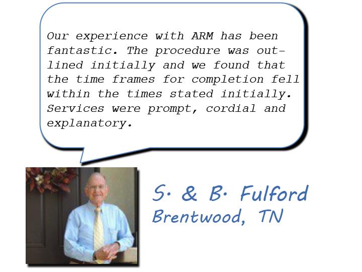 b fulford ARMG review
